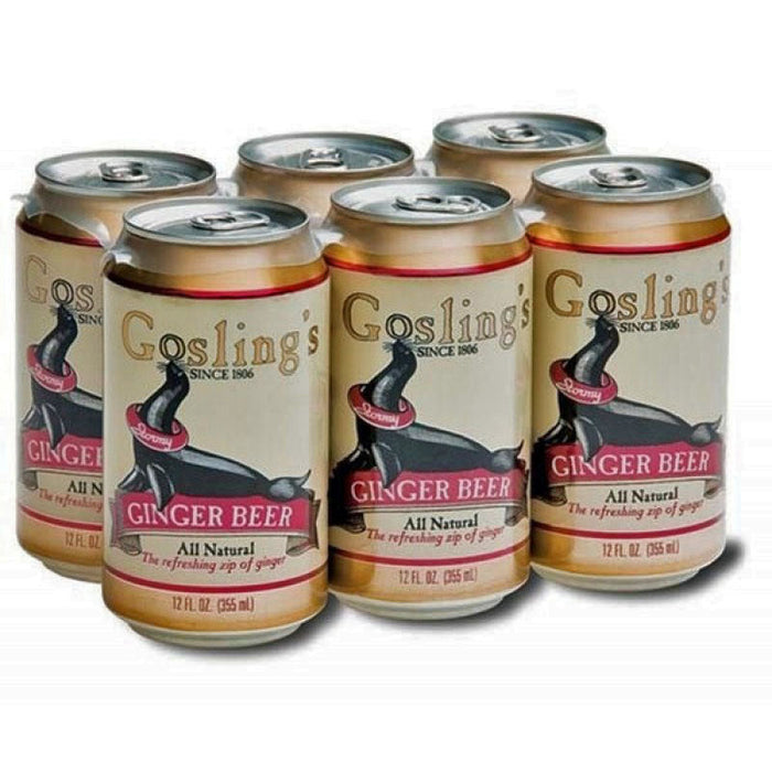 Gosling's 6 PACK Ginger Beer 33 cl.