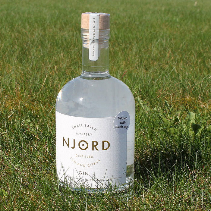 Njord Gin - Sun and Citrus - Birch Sap Infused