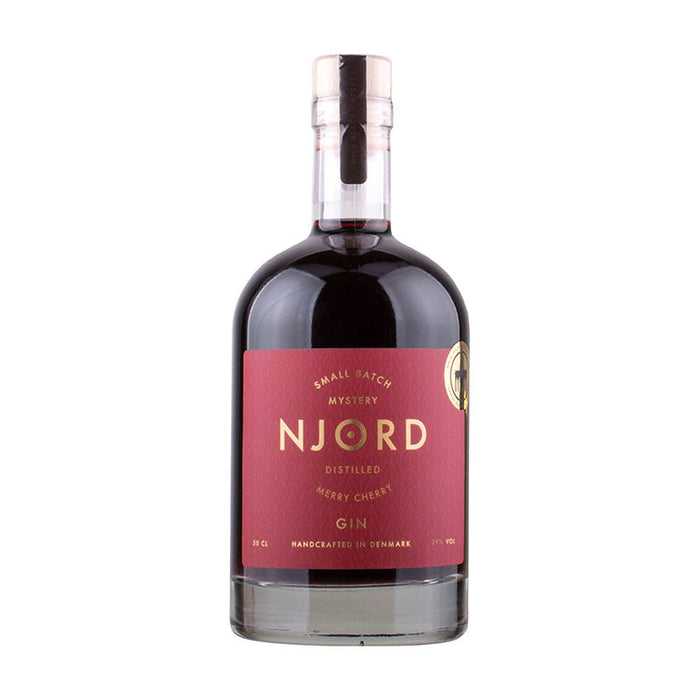 Njord Merry Cherry Gin 29% 50 cl.