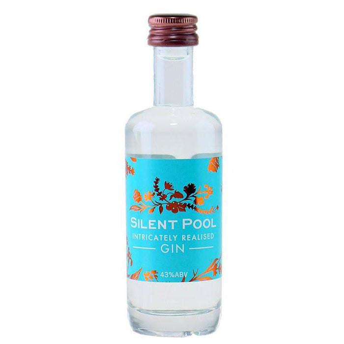 Silent Pool Gin 43 % 5 cl. Miniature