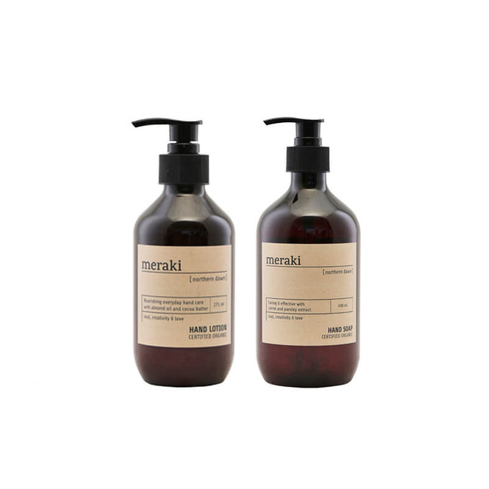 Meraki - Northern Dawn Hand Care gaveløsning