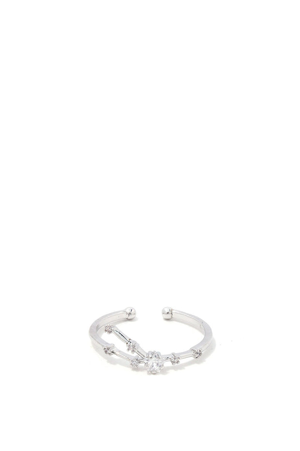 Taurus Constellation Star Ring