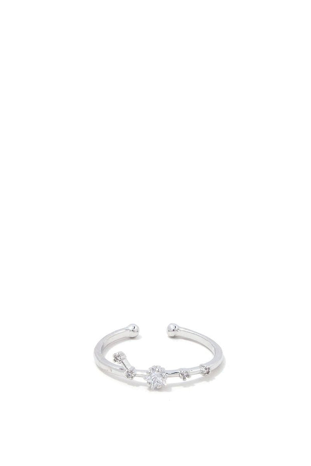 Aries Constellation Star Ring