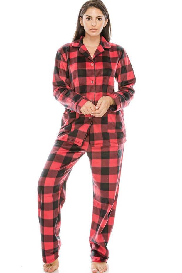 2 Pc. Fleece Pj Set - Avantchi.com
