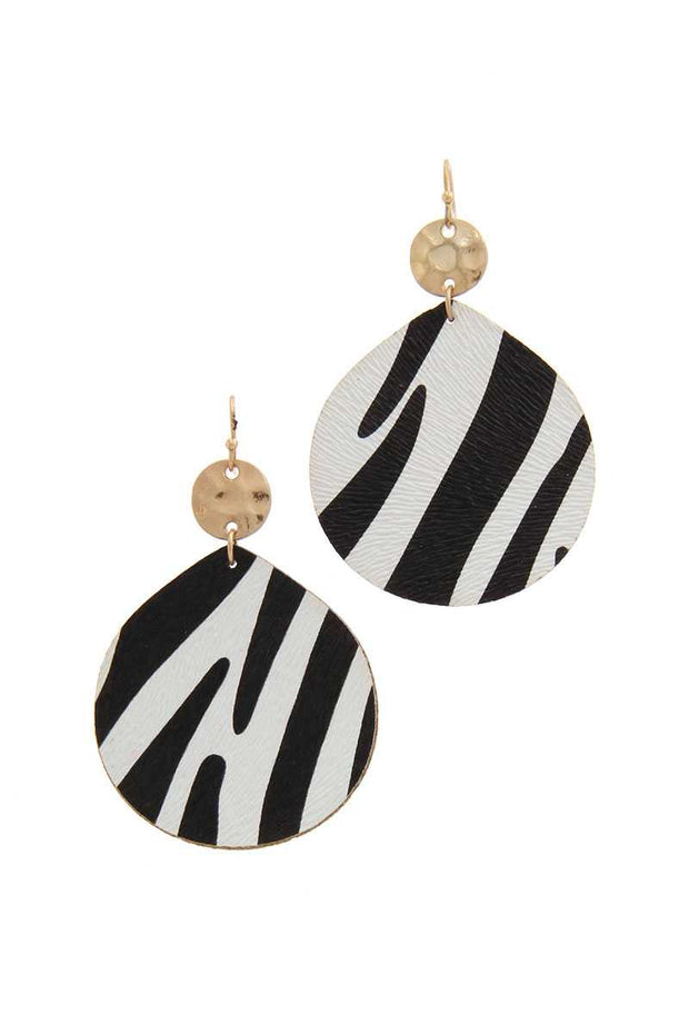 Double Circle Drop Earring - Avantchi.com