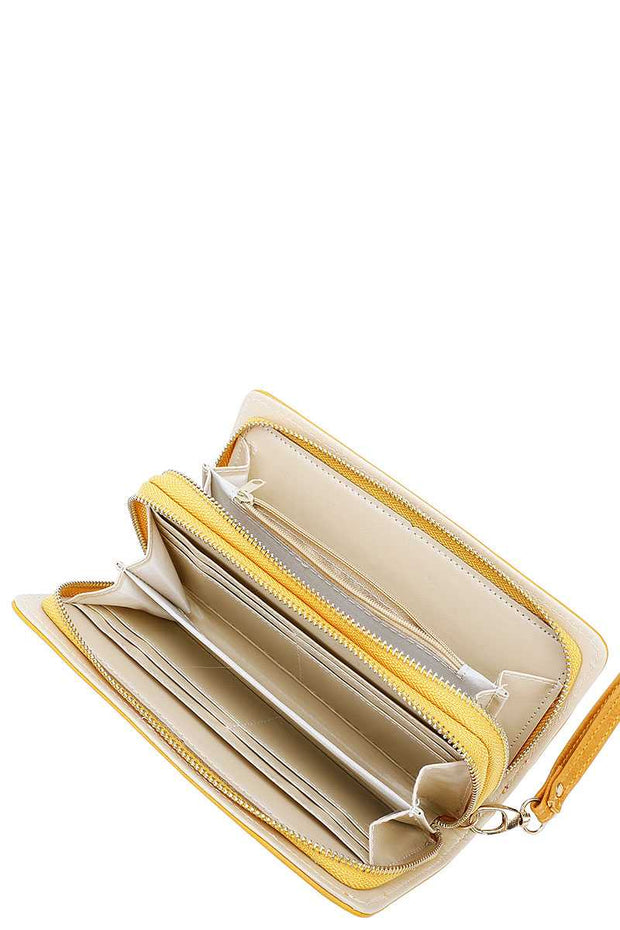 Fashion Solid Color Long Wallet - Avantchi.com