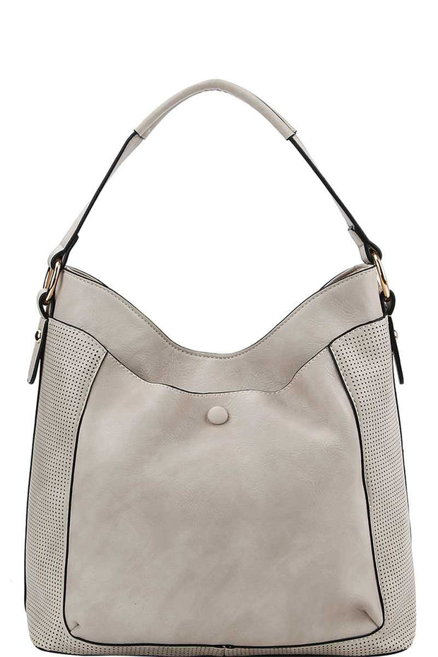 Chic Stylish Hobo Bag With Long Strap - Avantchi.com
