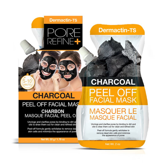 Dermactin-TS Peel Off Facial Mask with Charcoal 2 oz.