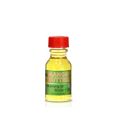 Burning & Body Oil - Mango Butter .5 oz.