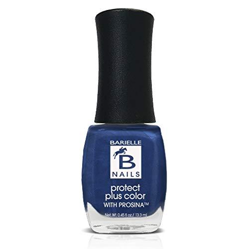 Protect+ Nail Color w/ Prosina - Slate of Affairs (A Worn Denim) - Barielle - America's Original Nail Treatment Brand