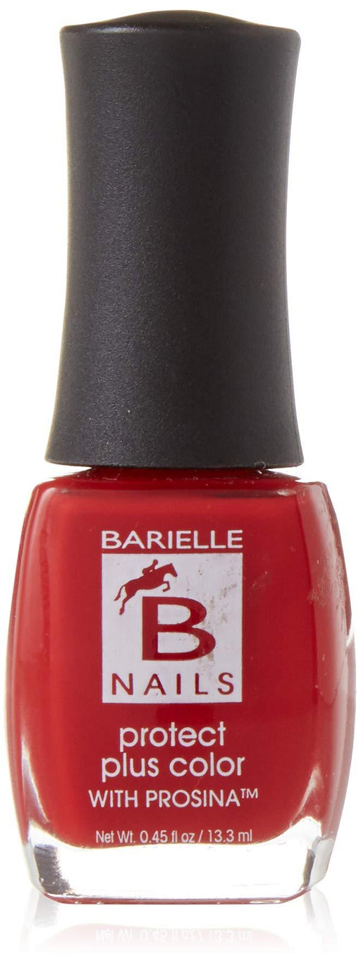 Protect+ Nail Color w/ Prosina - Dinner at 8 (Plum Red Rose) - Barielle - America's Original Nail Treatment Brand
