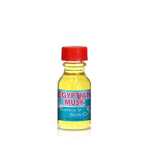 Burning & Body Oil - Egyptian Musk .5 oz.