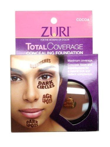 Zuri Total Coverage Concealing Foundation - Cocoa 1.4 oz.