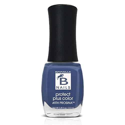 Protect+ Nail Color w/ Prosina - Pretty Woman (A Creamy Blue) - Barielle - America's Original Nail Treatment Brand