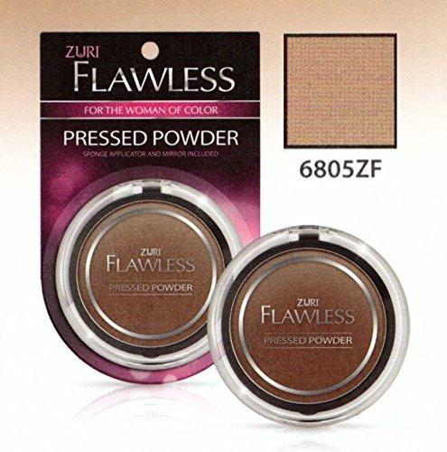 Zuri Flawless Pressed Powder - Tawny Tan