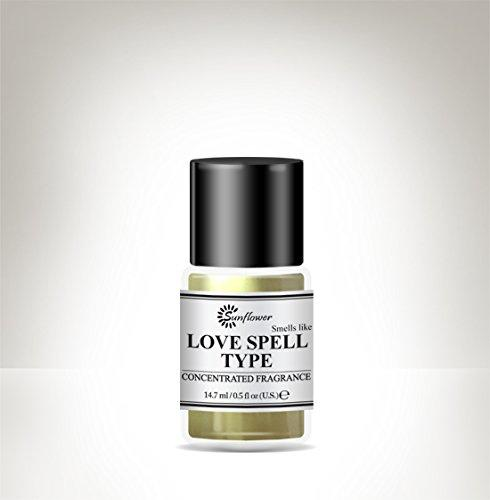 Black Top Body Oil - Love Spell .5 oz.