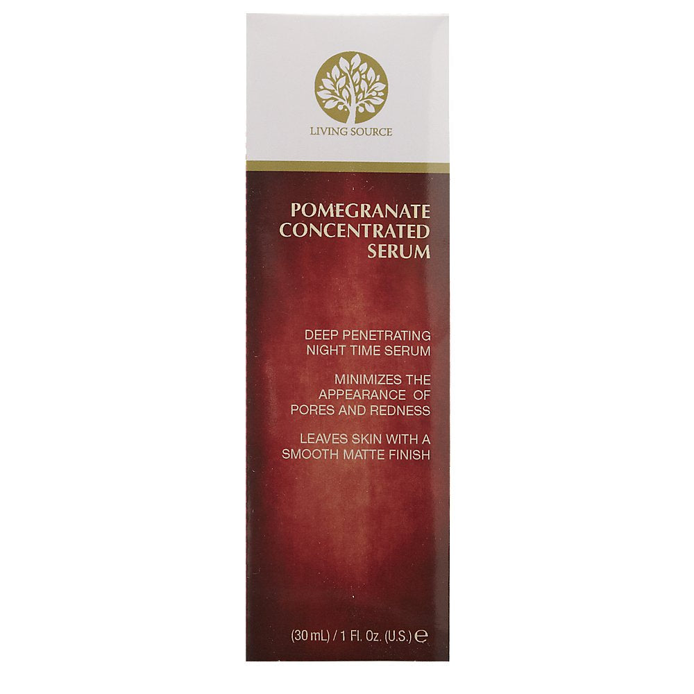 Living Source Pomegranate Concentrated Serum 1 oz.