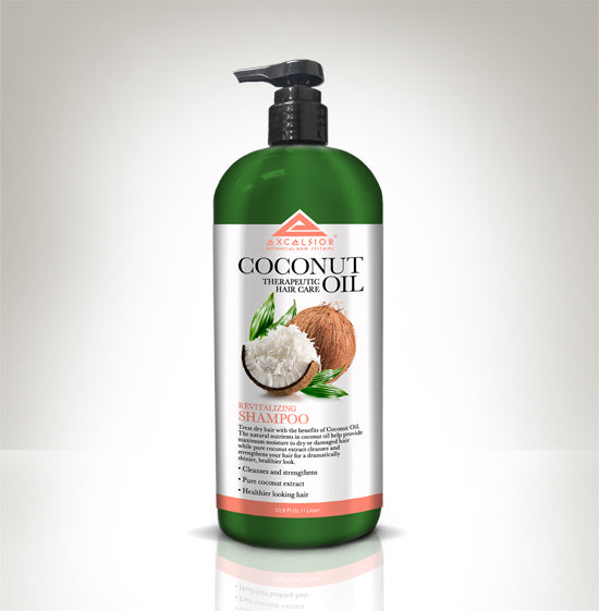 EXCELSIOR COCONUT OIL SHAMPOO 33 OZ