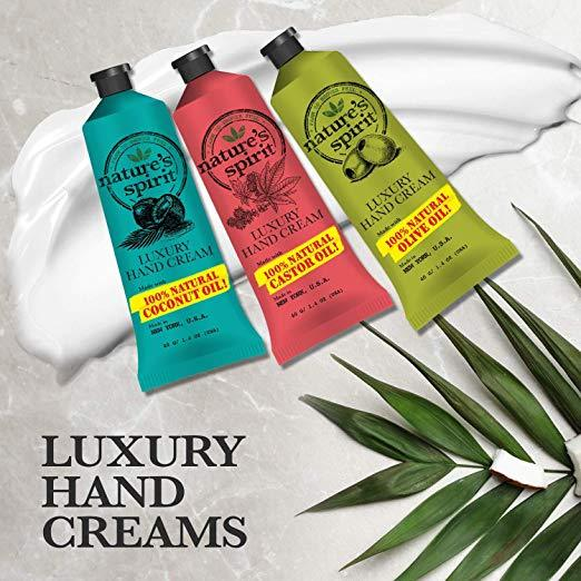 Nature's Spirit Luxury Hand Cream Shea Butter 1.4 oz