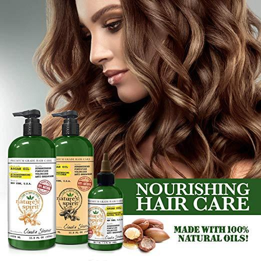 Nature's Spirit Pro-Growth Castor Oil Shampoo Travel Size 2.5 oz