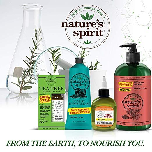 Nature's Spirit 100% Natural Essential Argan Oil 1 oz.