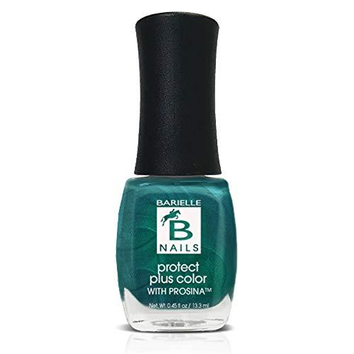 Protect+ Nail Color w/ Prosina - End of the Rainbow (A Sheer Aqua Green w/ Shimmer) - Barielle - America's Original Nail Treatment Brand