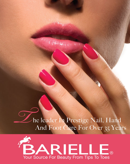 Protect+ Nail Color w/ Prosina - Berry Blue (A Creamy Navy Blue) - Barielle - America's Original Nail Treatment Brand