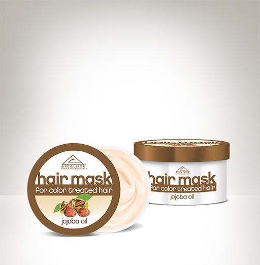 MASK FOR COLOR TREATED HAIR WITH JOJOBA OIL
