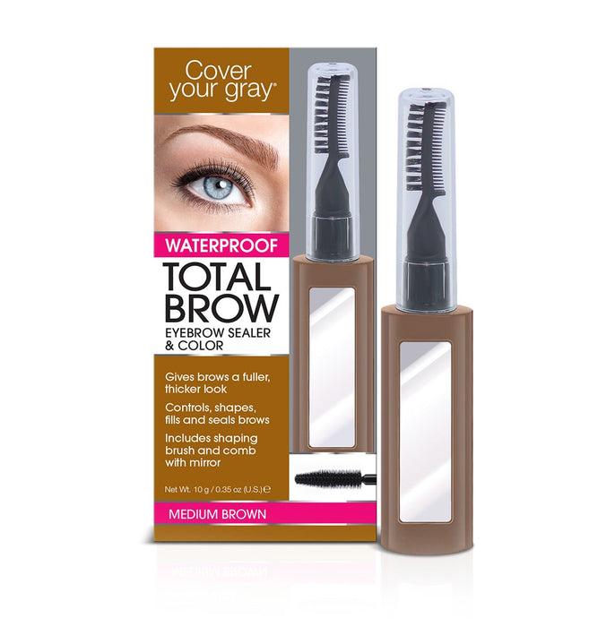 Cover Your Gray Total Brow Eyebrow Sealer & Color - coveryourgray