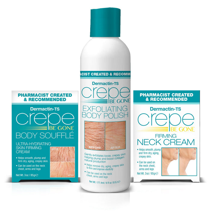 Dermactin-TS Crepe Be Gone 3-Piece Kit