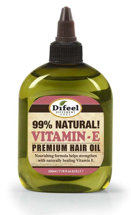 Difeel Premium Natural Hair Oil - Vitamin E Oil 8 oz.