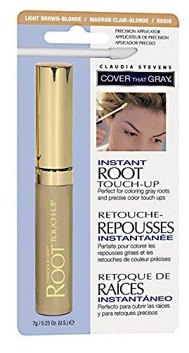 Claudia Stevens Instant Root Touch Up Light Brown/Blonde