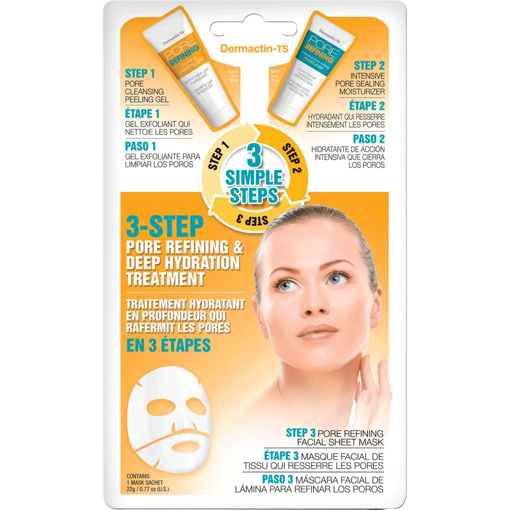 Dermactin-TS 3-step Pore Refining & Deep Hydration Treatment
