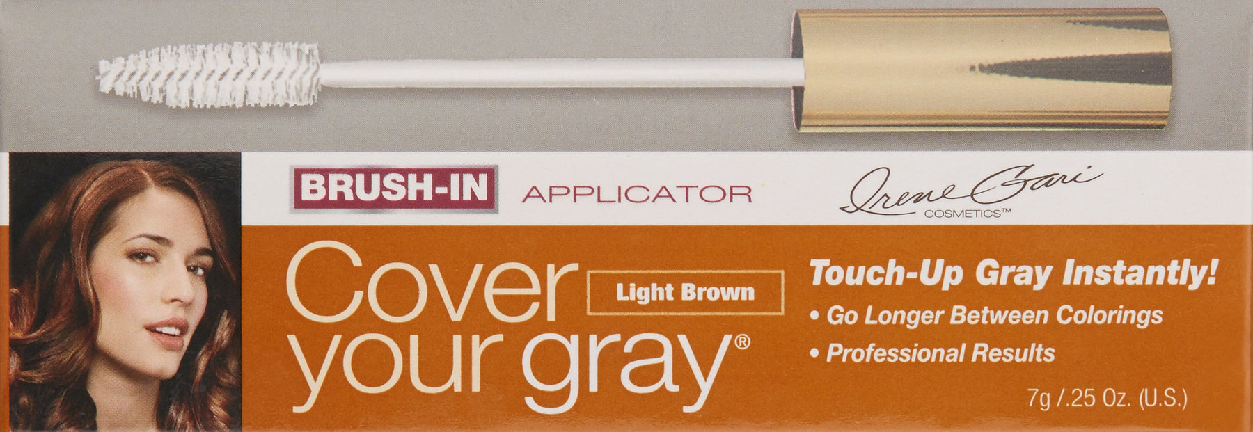 Cover Your Gray Brush in Hair Color Mini - Light Brown/Blonde
