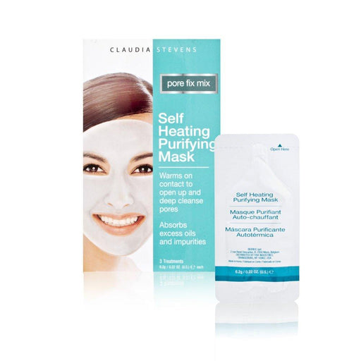 Claudia Stevens Pore Fix Mix Self Heating Purifying Mask .22 oz.