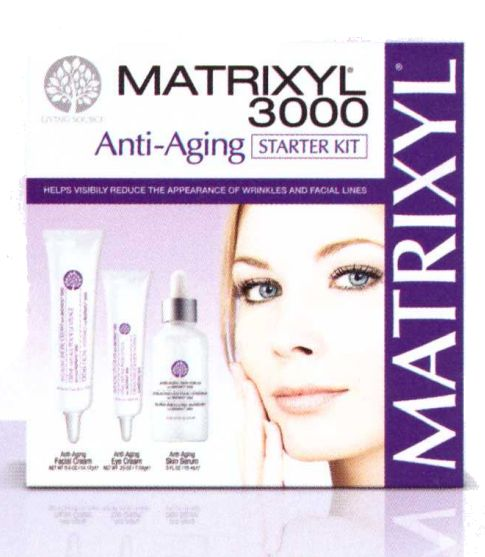 Living Source Matrixyl 3000 Anti-Aging Starter Kit 4 oz.