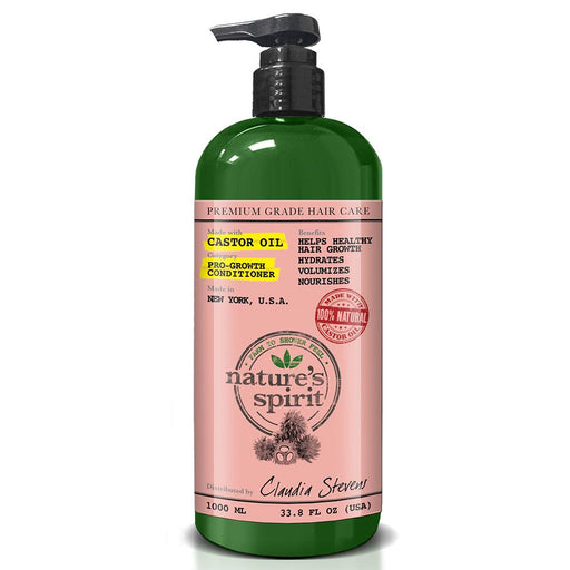 Nature's Spirit Castor Oil Conditioner 33.8 oz.