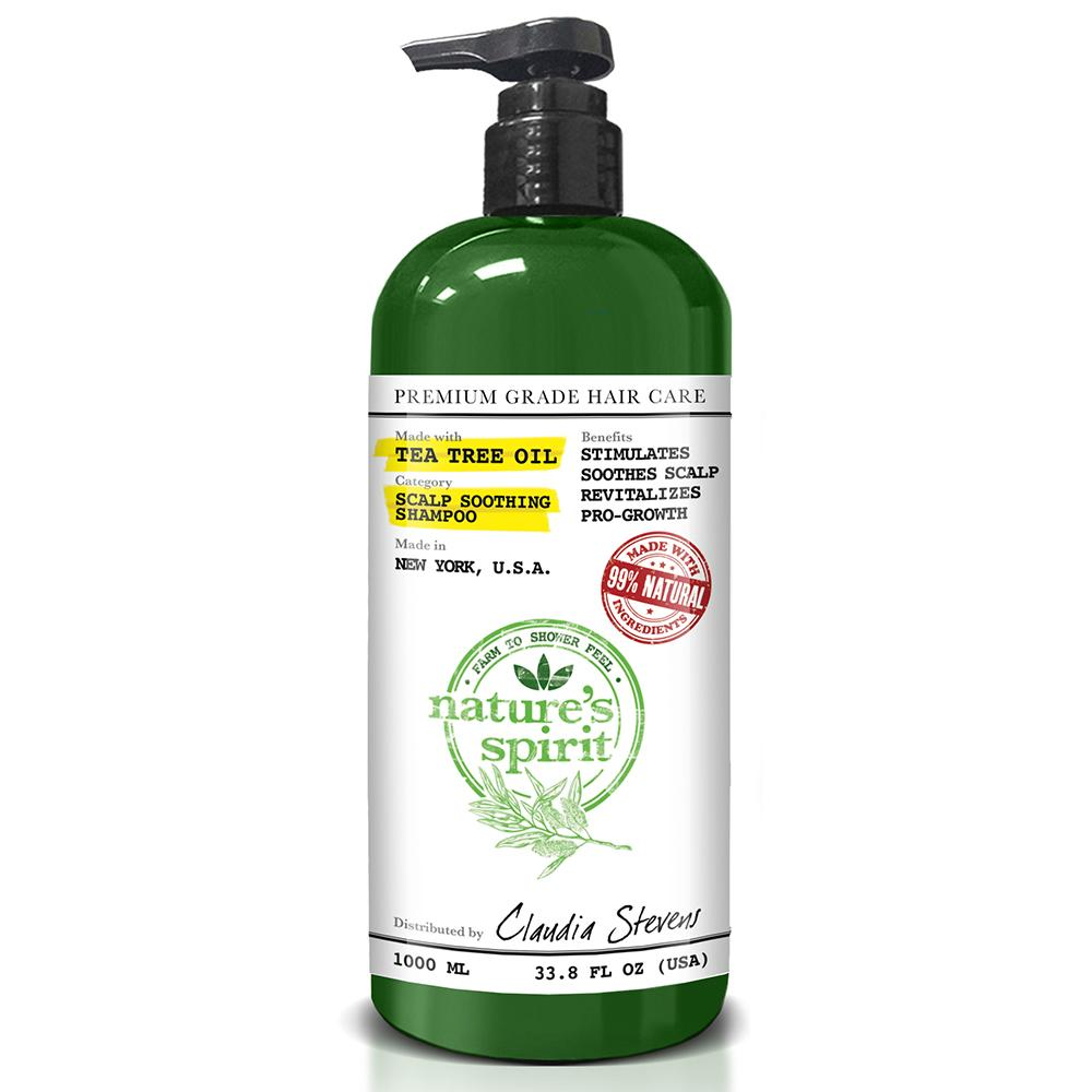 Nature's Spirit Tea Tree Oil Shampoo 33.8 oz.