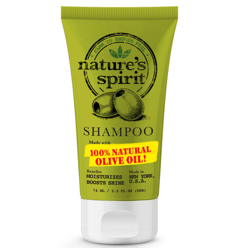 Nature's Spirit Anti-Frizz Olive Oil Shampoo Trial Size 2.5 oz.