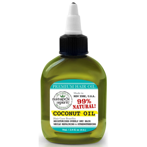 Nature's Spirit Premium Hair Oil Coconut 2.5 oz.