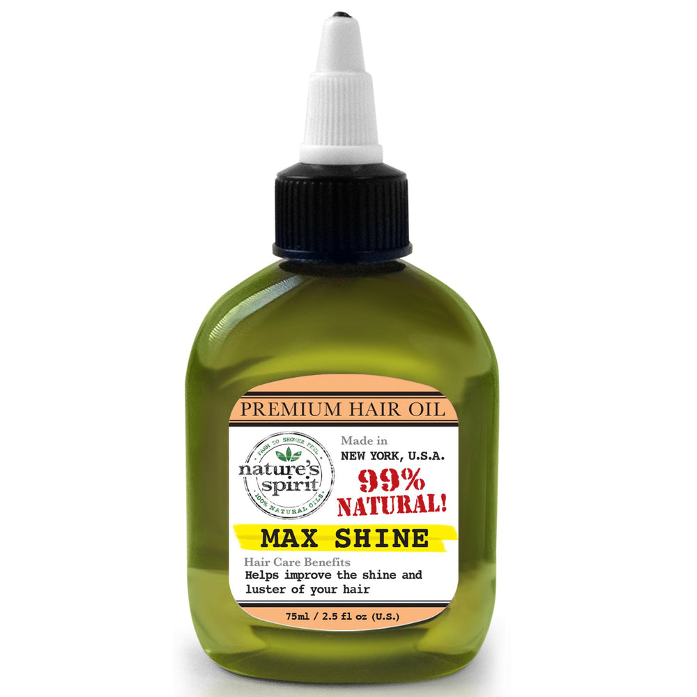 Nature's Spirit Premium Hair Oil Max Shine 2.5 oz.