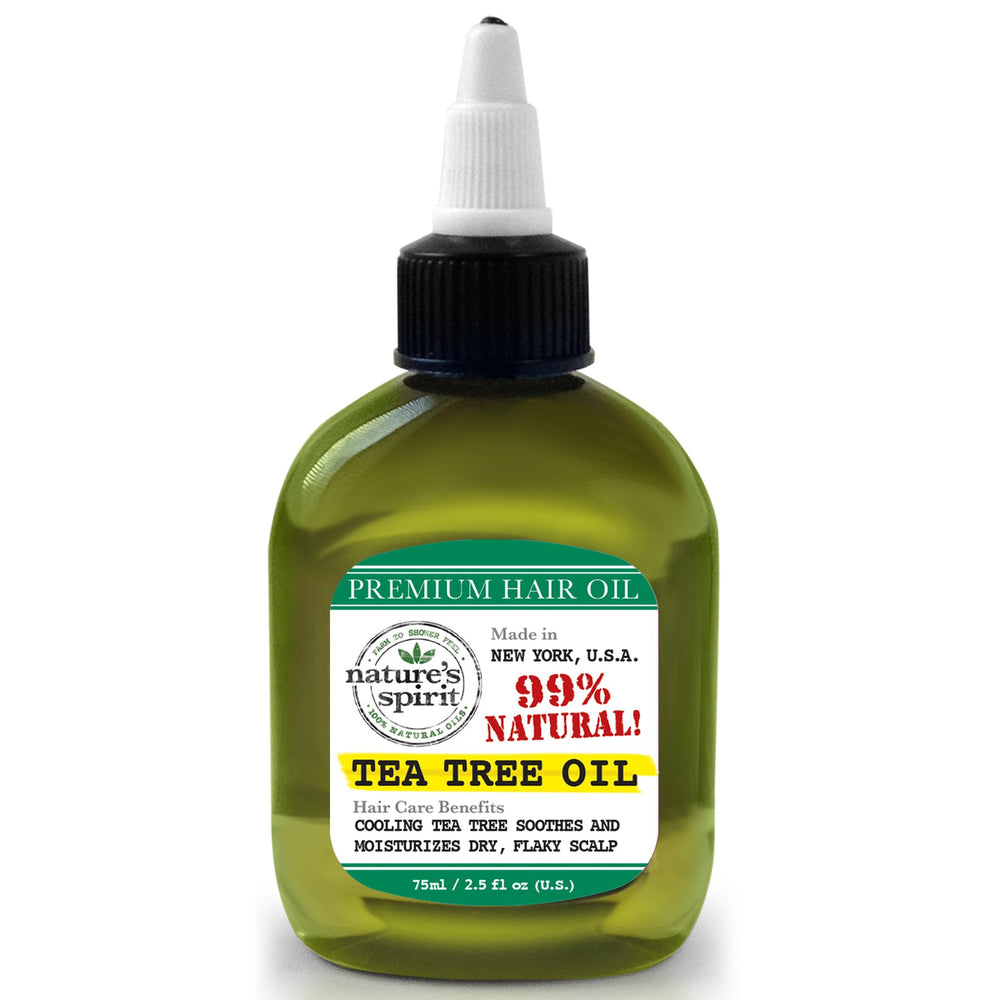 Nature's Spirit Premium Hair Oil Tea Tree 2.5 oz.