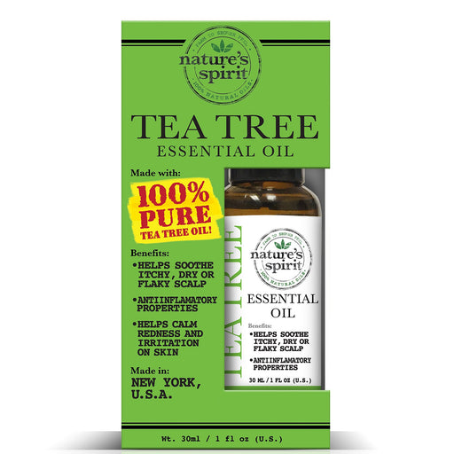 Nature's Spirit 100% Natural Essential Tea Tree Oil 1 oz.