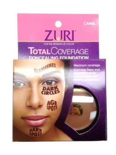 Zuri Total Coverage Concealing Foundation - Camel 1.4 oz.