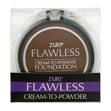 Zuri Flawless Cream to Powder Foundation - Cocoa