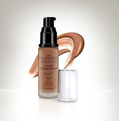 Zuri Flawless Liquid Cover Foundation - Blush Brown