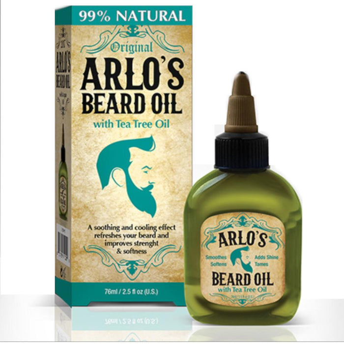 Arlo's Beard Oil with Tea Tree Oil 2.5 oz.