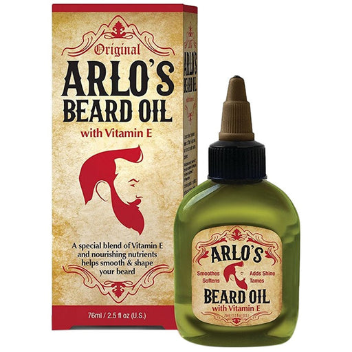 Arlo's Beard Oil with Vitamin E 2.5 oz. (6-PK)
