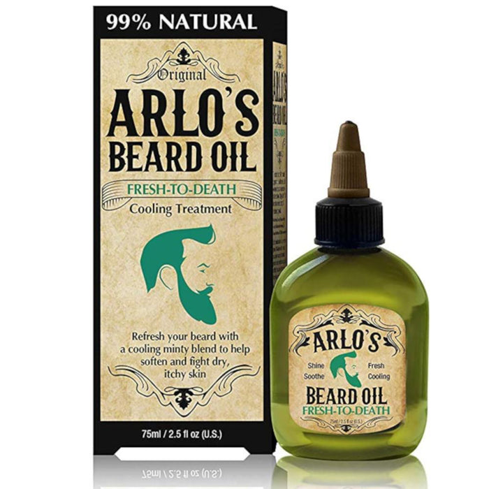 Arlo's Beard Oil - Fresh to Death - Peppermint 2.5 oz.