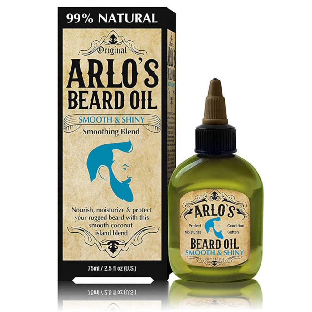 Arlo's Beard Oil - Smooth and Shiny (Coconut) 2.5 oz.